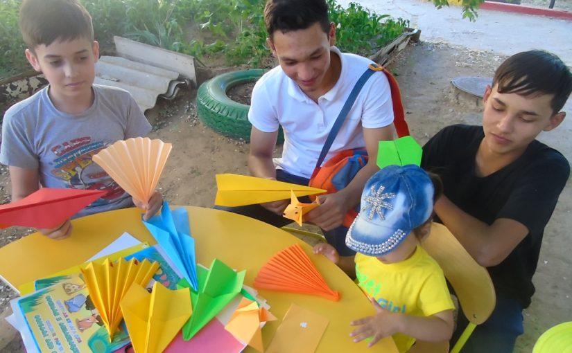 Мастер-класс в технике оригами