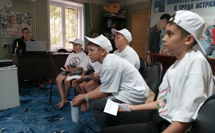 День трезвости в Наримановском районе