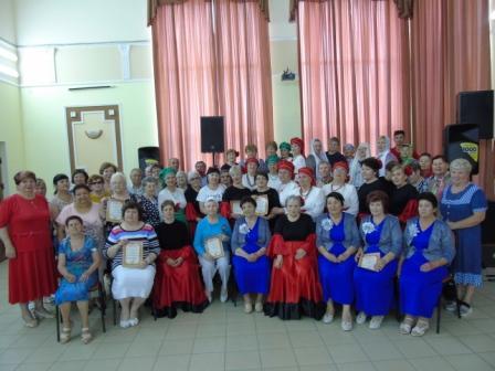 В Наримановском районе прошел конкурс «Души серебряные струны»