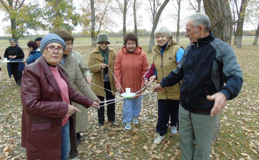 В Наримановском районе прошел тимбилдинг для людей серебряного возраста
