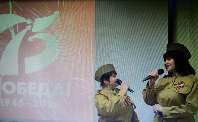 В Наримановском районе проходит акция «Салют, Победа!»