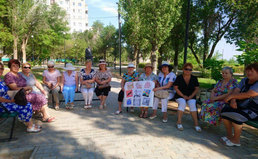 Наримановцы отметили 80-летний юбилей Давида Тухманова