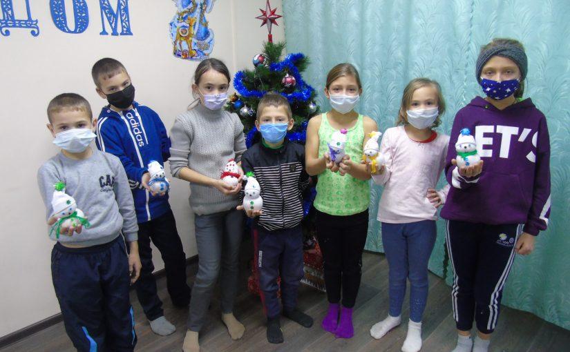 Дети Наримановского района готовятся к Новому году