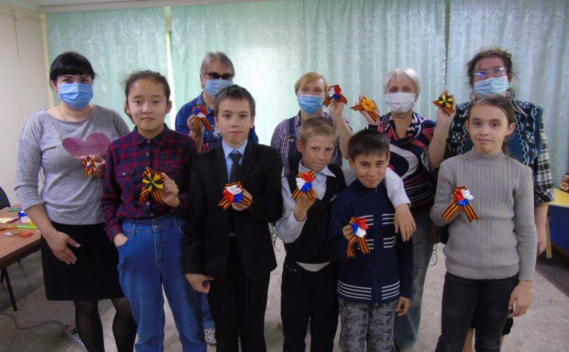 Наримановцы приняли участие в акции «Георгиевская ленточка»